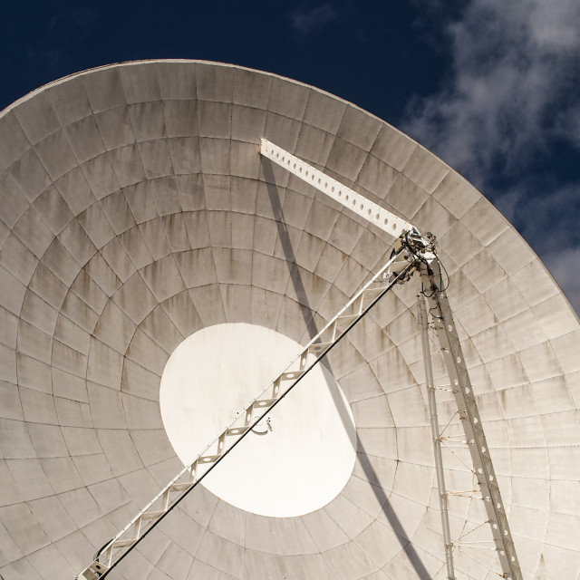 """Arthur - Goonhilly Earth Station."" stock image"