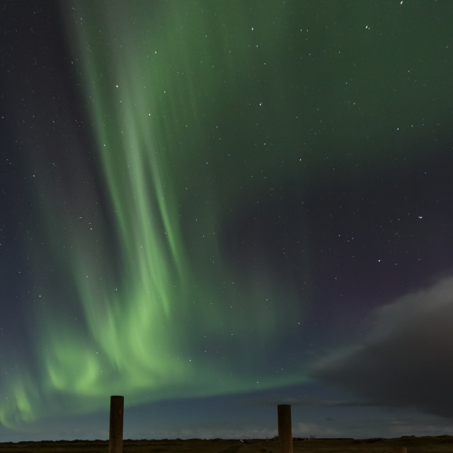 """""""The gate to Aurora."""" stock image"""