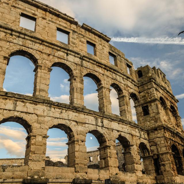 """Gladiator Arena"" stock image"