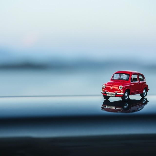 """Fiat 600"" stock image"