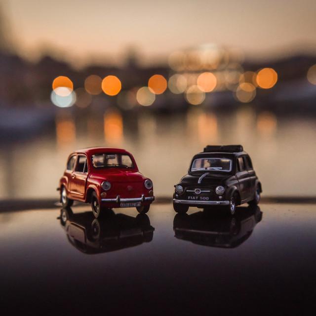 """Fiat models"" stock image"