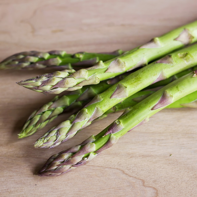 """Green asparagus"" stock image"
