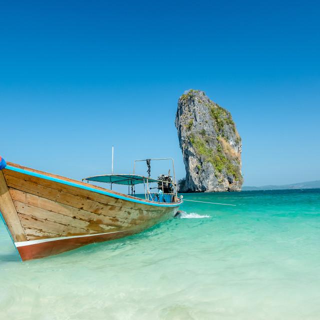 """Beautiful ocean landscape in Phuket, Thailand"" stock image"