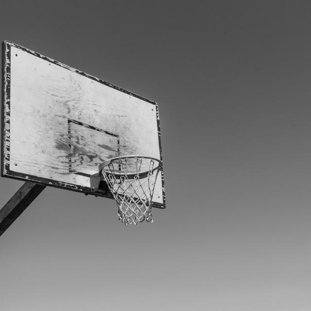 """""""backboard basketball"""" stock image"""