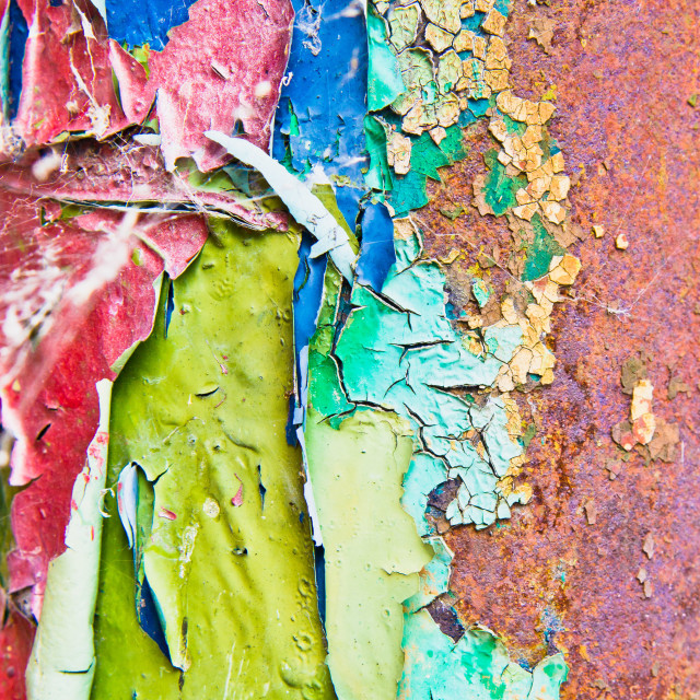 """Cracked paint"" stock image"