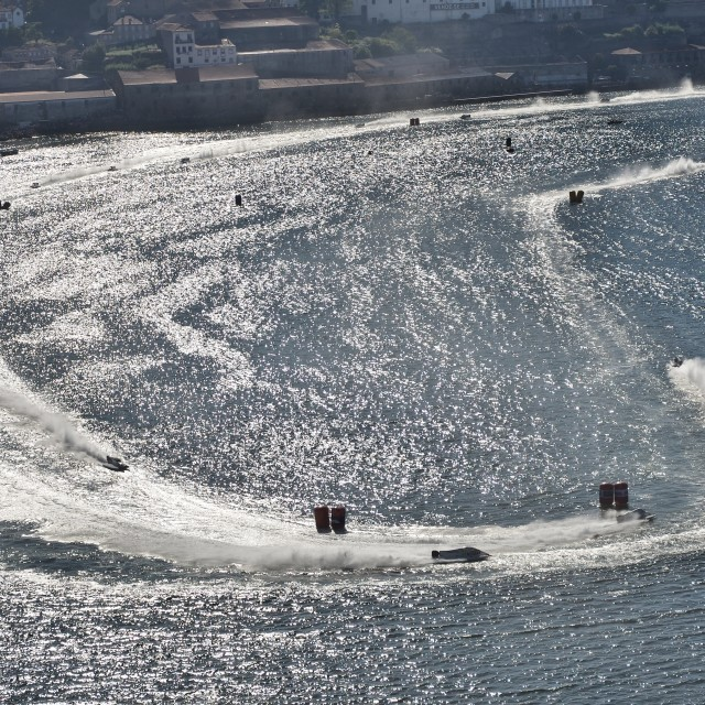 """F1H2O World Campionship 2015 Porto Portugal"" stock image"