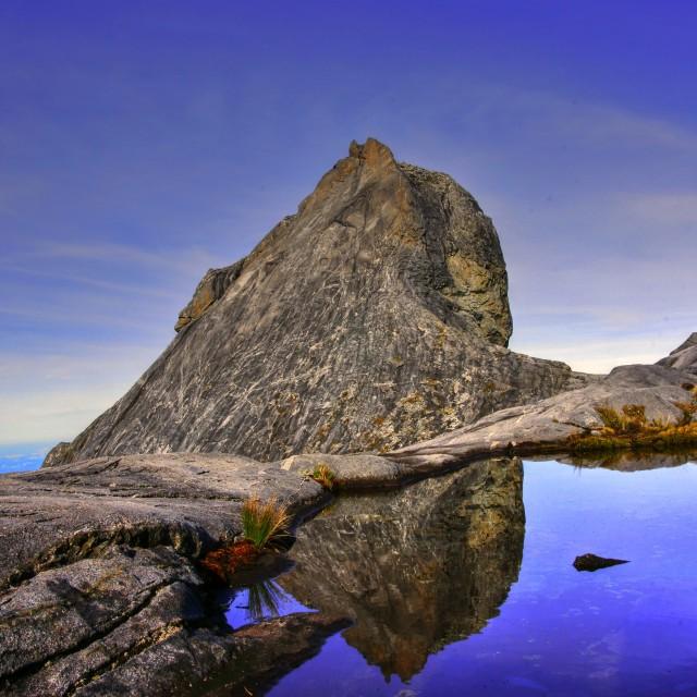"""St John's Peak"" stock image"