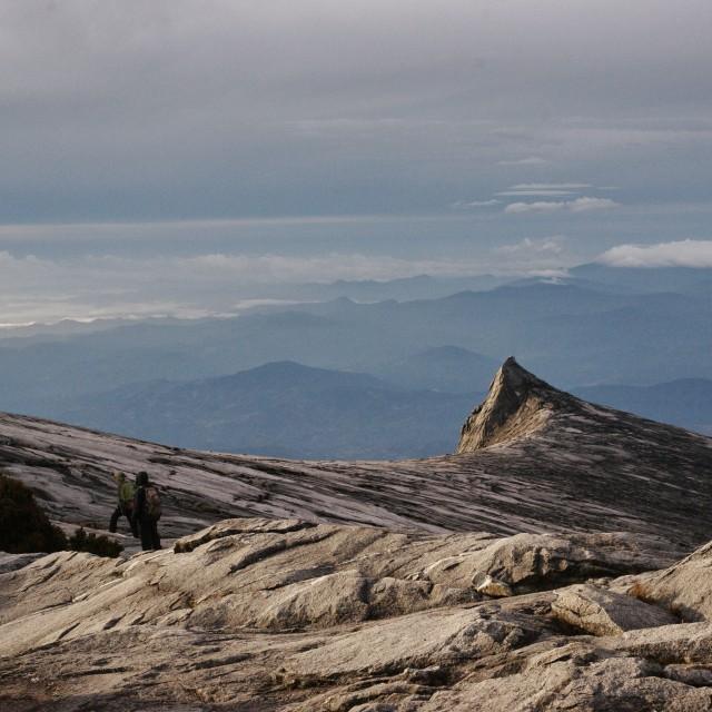 """South Peak, Mount Kinabalu"" stock image"