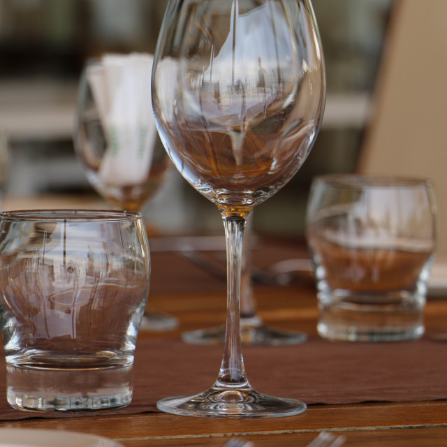 """Glass Cup"" stock image"