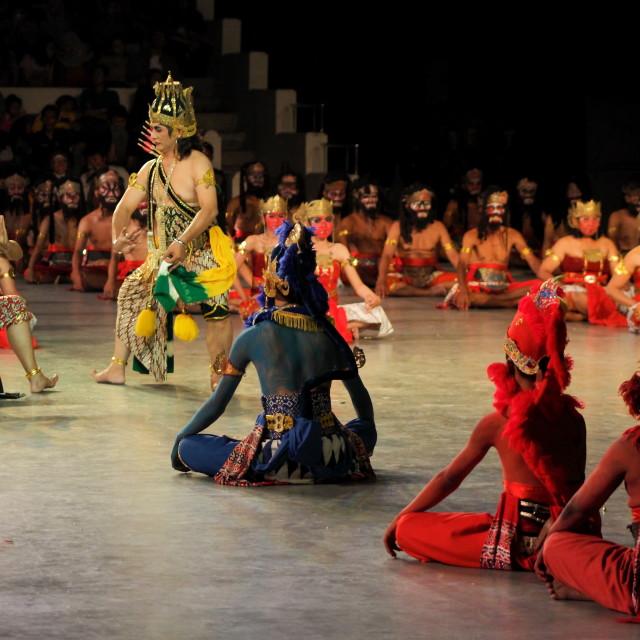 """""""Ramayana Ballet"""" stock image"""