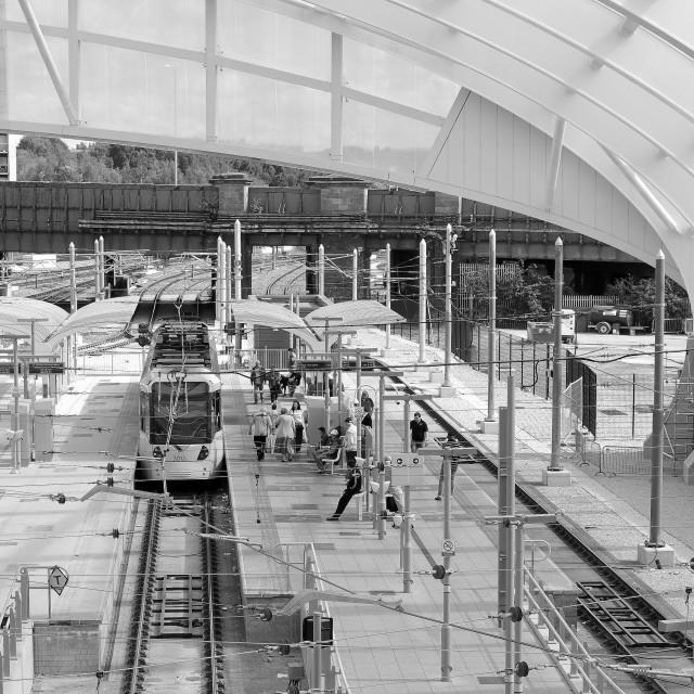 """Station Landscape"" stock image"