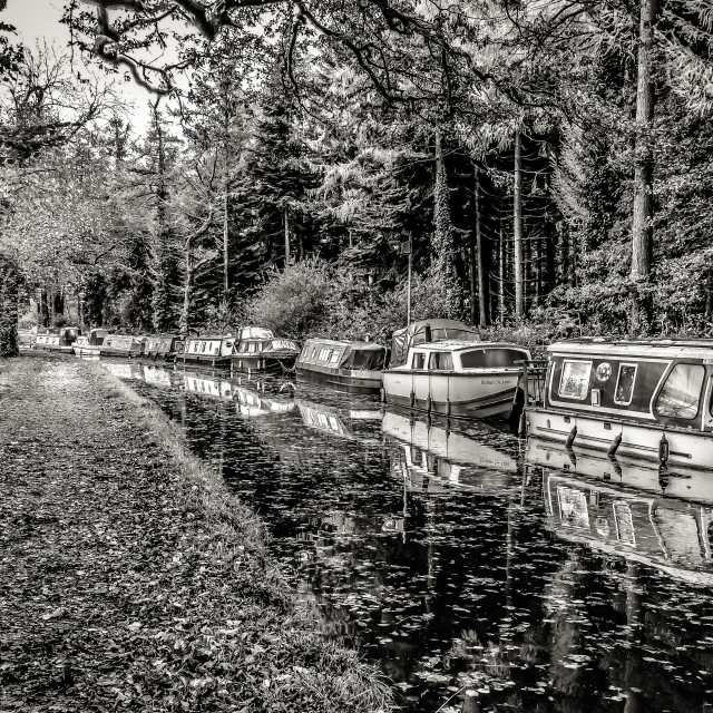 """Welsh Canals"" stock image"