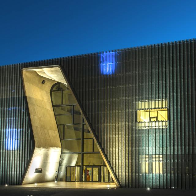 """POLIN Museum"" stock image"