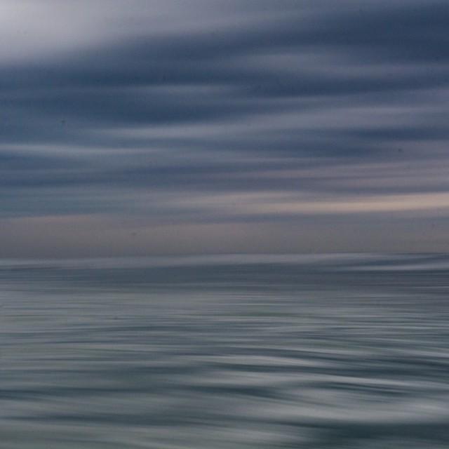 """Cloudy Ocean"" stock image"