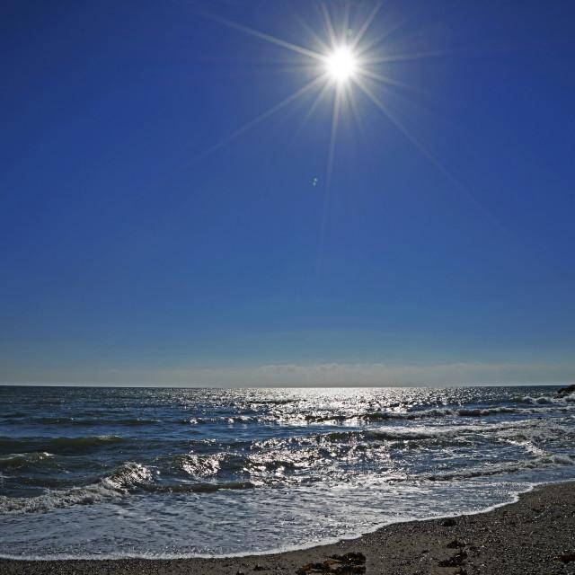 """Sea Sun & Sand"" stock image"