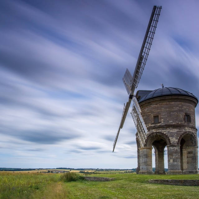"""Chesterton Windmill"" stock image"
