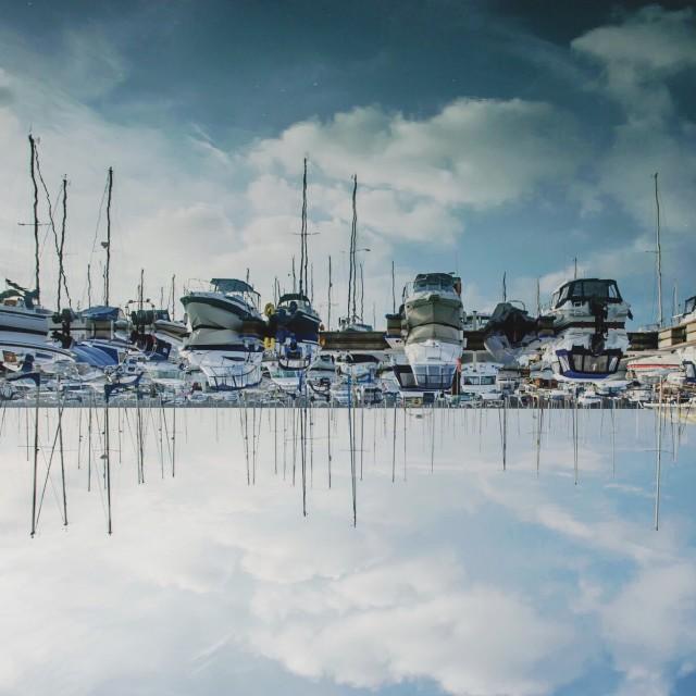 """Brighton marina"" stock image"