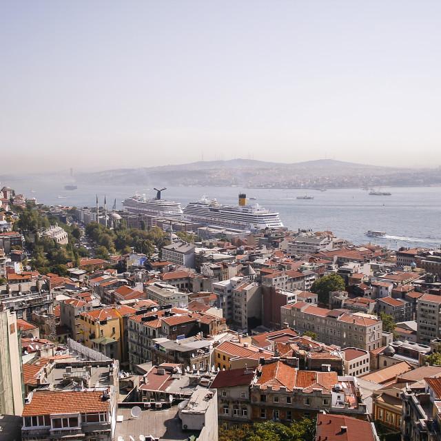 """European Istanbul"" stock image"