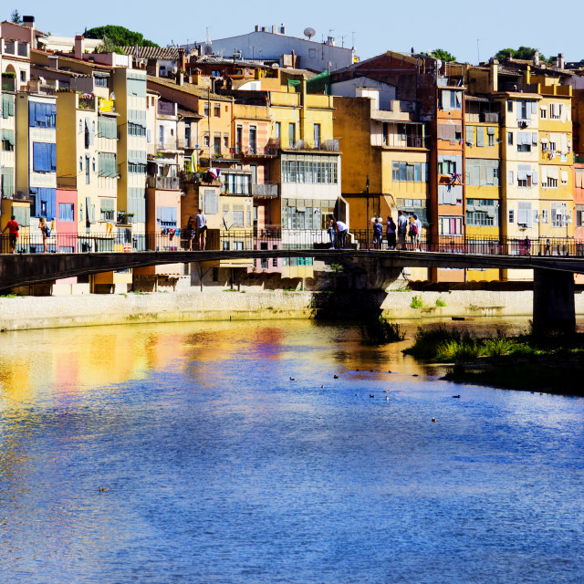 """River Onya, Girona, Spain"" stock image"