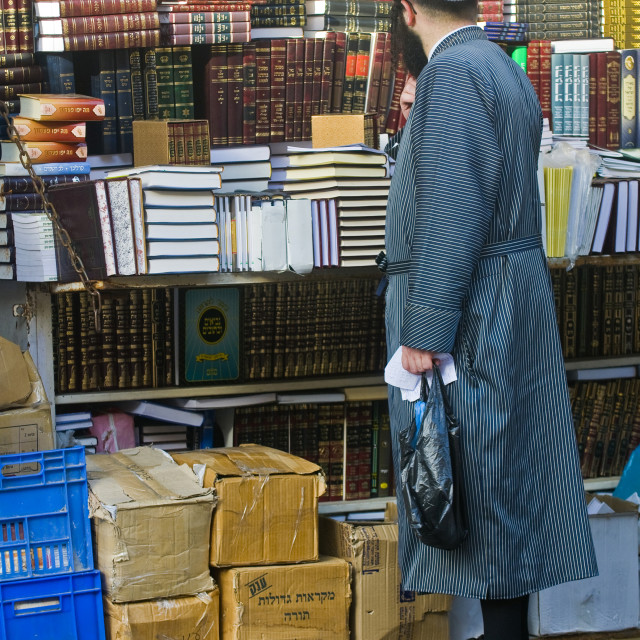 """Jewish ultra orthodox"" stock image"