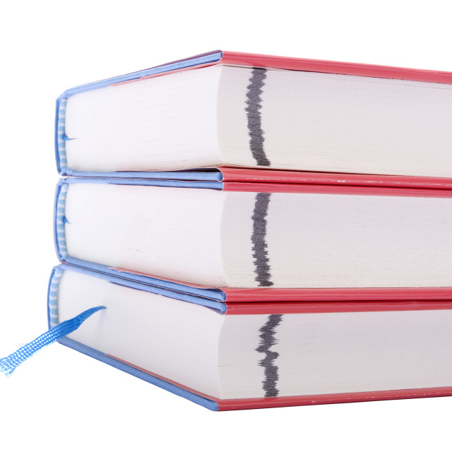 """Three books"" stock image"