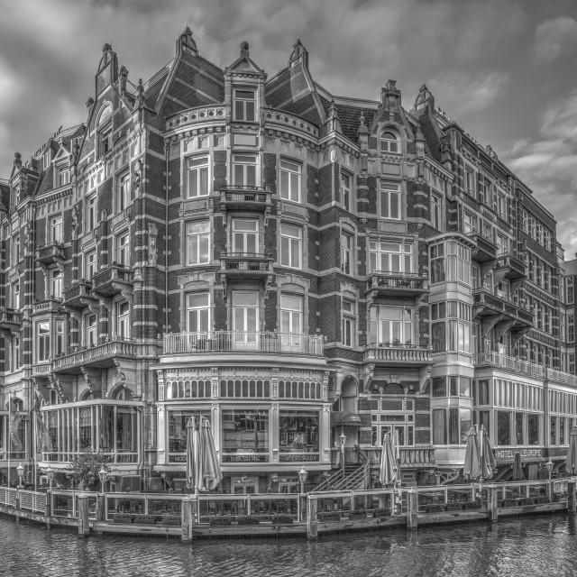 """Hotel De L'Europe - Amsterdam"" stock image"