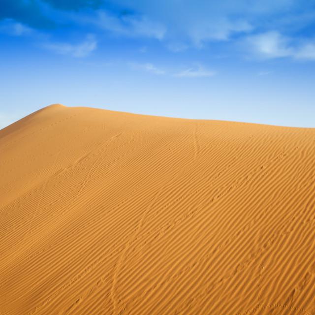 """""""Sahara Morocco"""" stock image"""