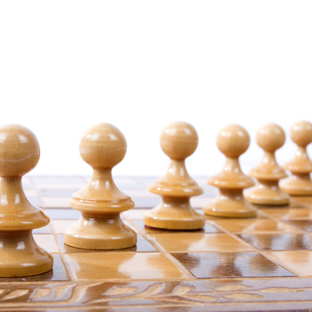 """Chess figures"" stock image"