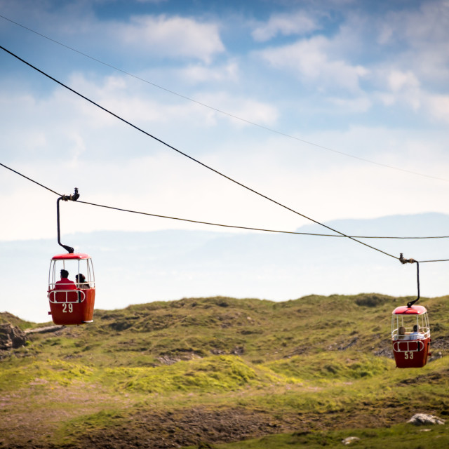 """Cable Cars"" stock image"