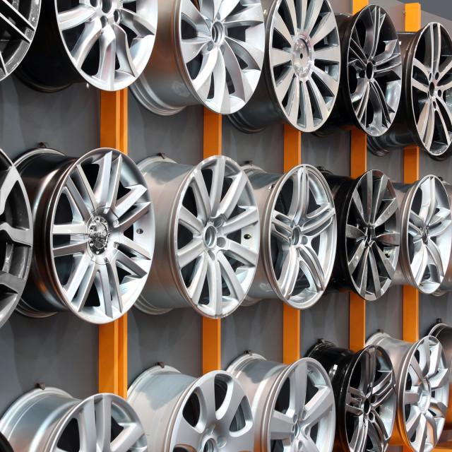 """car aluminum wheel rim"" stock image"