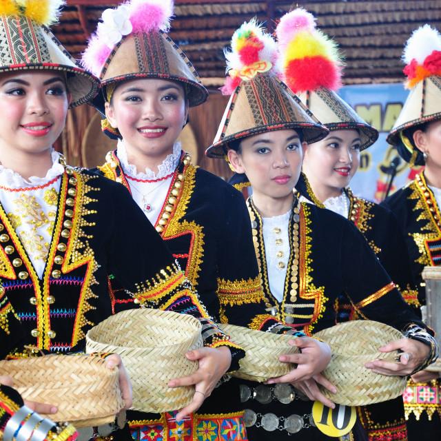 """People of Sabah Borneo, Malaysia"" stock image"