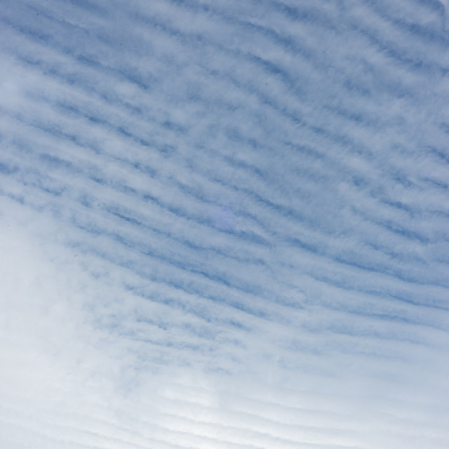 """Gravity wave clouds"" stock image"
