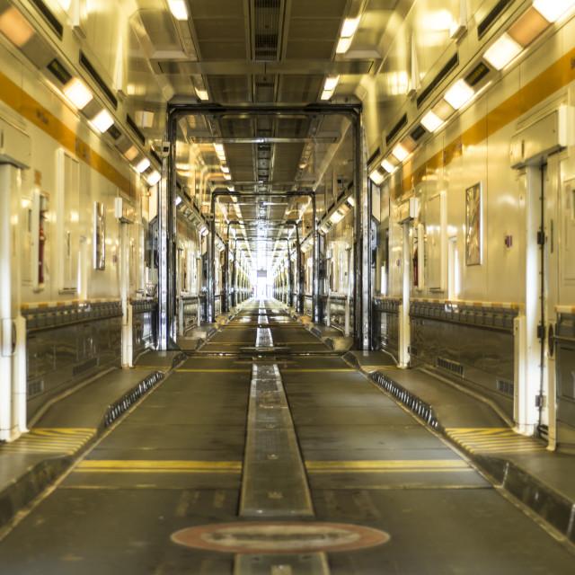"""Eurostar train"" stock image"