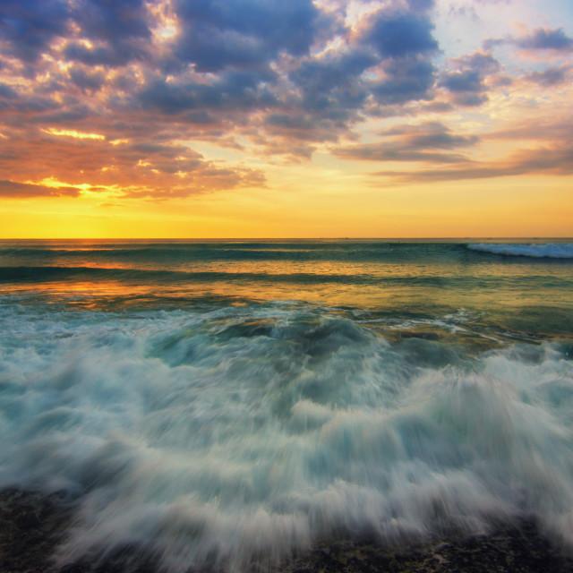 """Dreamland Beach"" stock image"