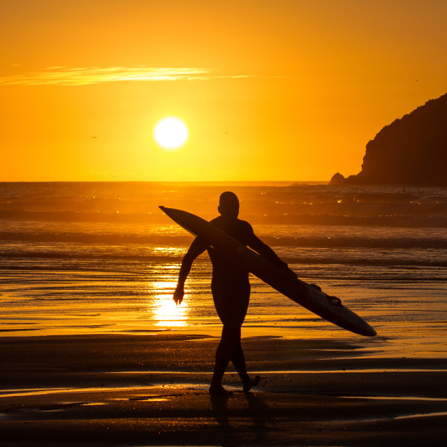 """Surf Lifesaver"" stock image"