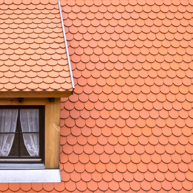 """Little dormer"" stock image"
