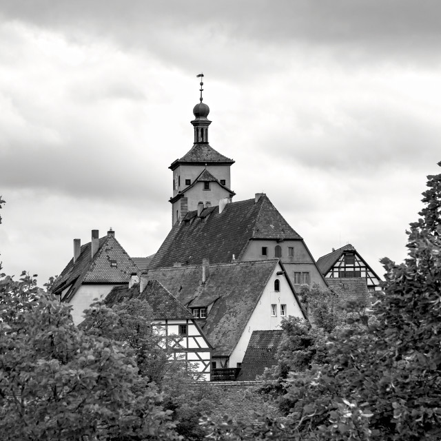 """Medieval Town Rothenburg"" stock image"