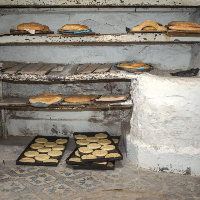 """Arab bakery"" stock image"