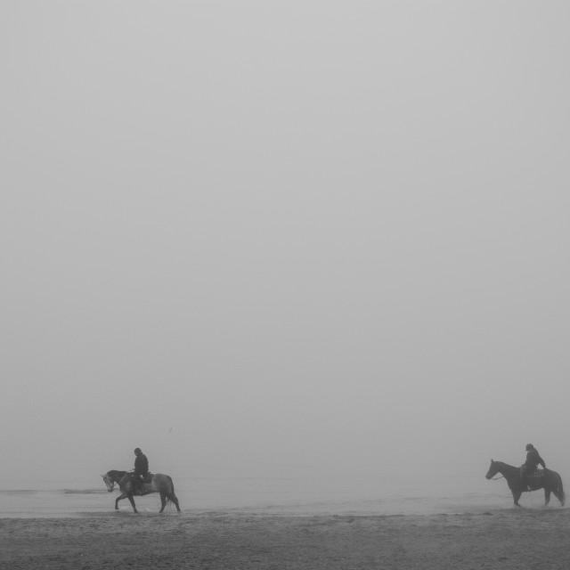 """Horsemen"" stock image"