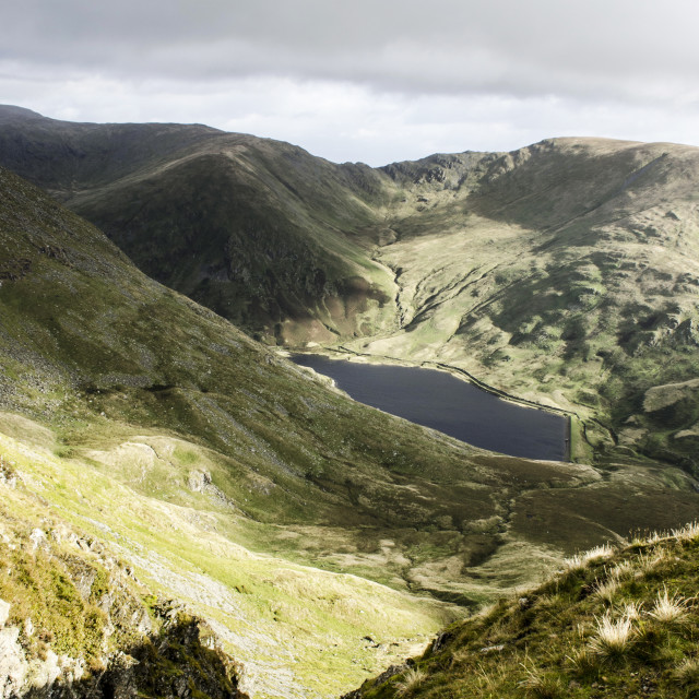 """Kentmere Reservoir"" stock image"