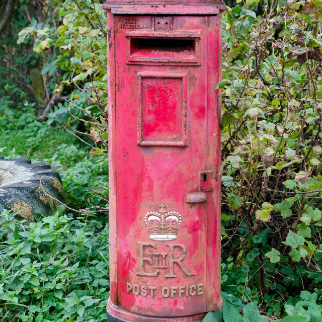 """old postbox"" stock image"
