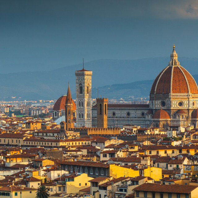 """Florence by dawn"" stock image"
