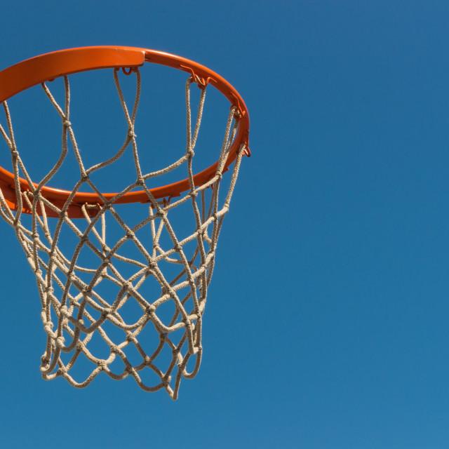 """""""hoop basketball"""" stock image"""