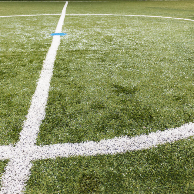 """Football field"" stock image"
