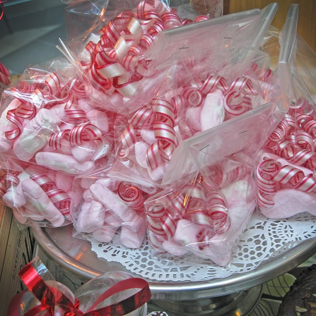 """Christmas candy wrapped in cellophane"" stock image"