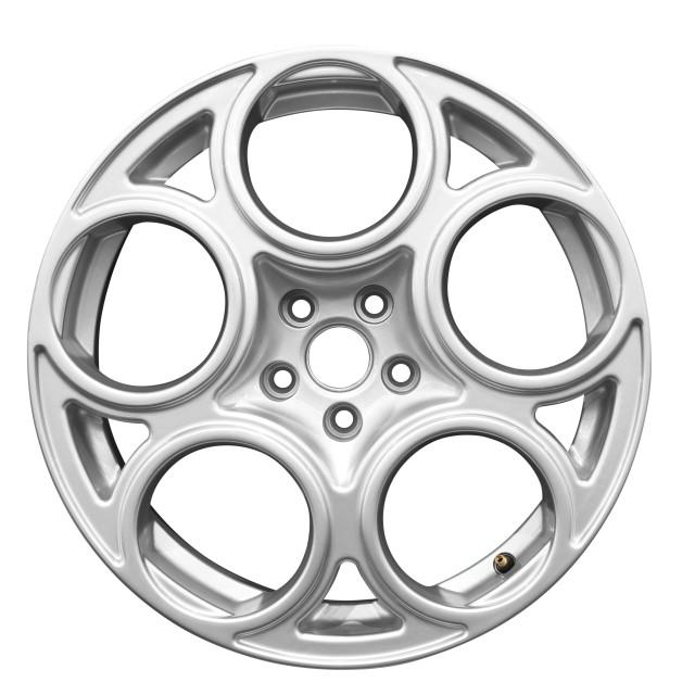 """car aluminum wheel isolated"" stock image"