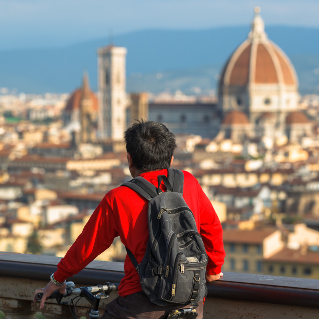 """Florence view"" stock image"