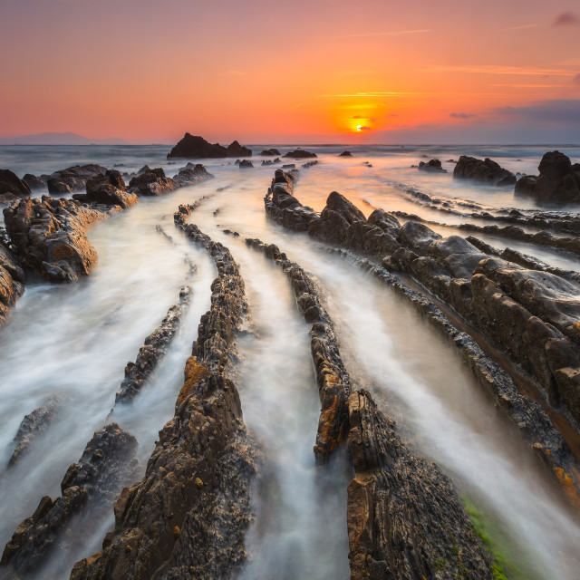 """Barrika lines"" stock image"