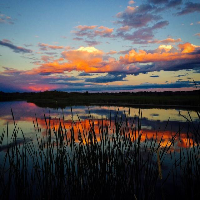 """""""Pere Marquette River"""" stock image"""