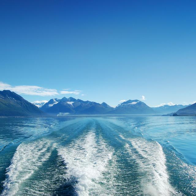 """Journey to Alaska"" stock image"